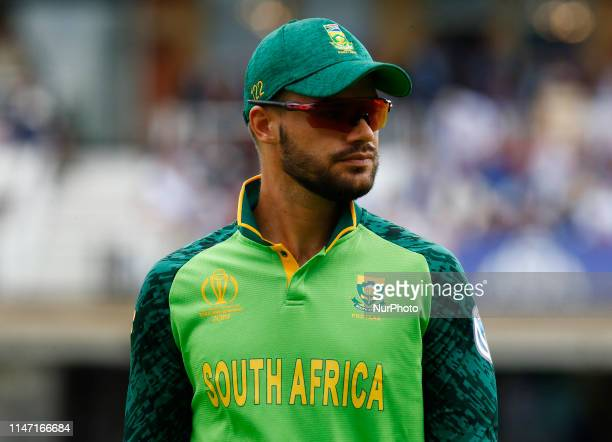 Aiden Markram of South Africa during ICC Cricket World Cup Match 1 between England and South Africa at the Oval Stadium in London UK on 30 May 2019