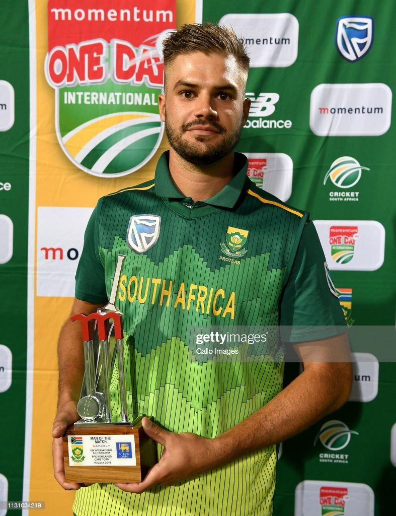 South Africa v Sri Lanka- One Day International : ニュース写真