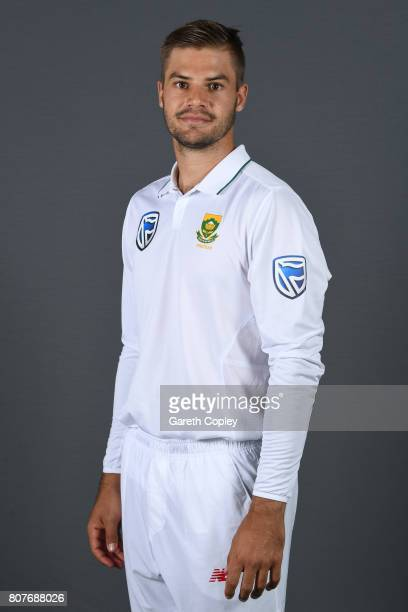 Aiden Markram of South Africa poses for a portrait at Lord's Cricket Ground on July 4 2017 in London England