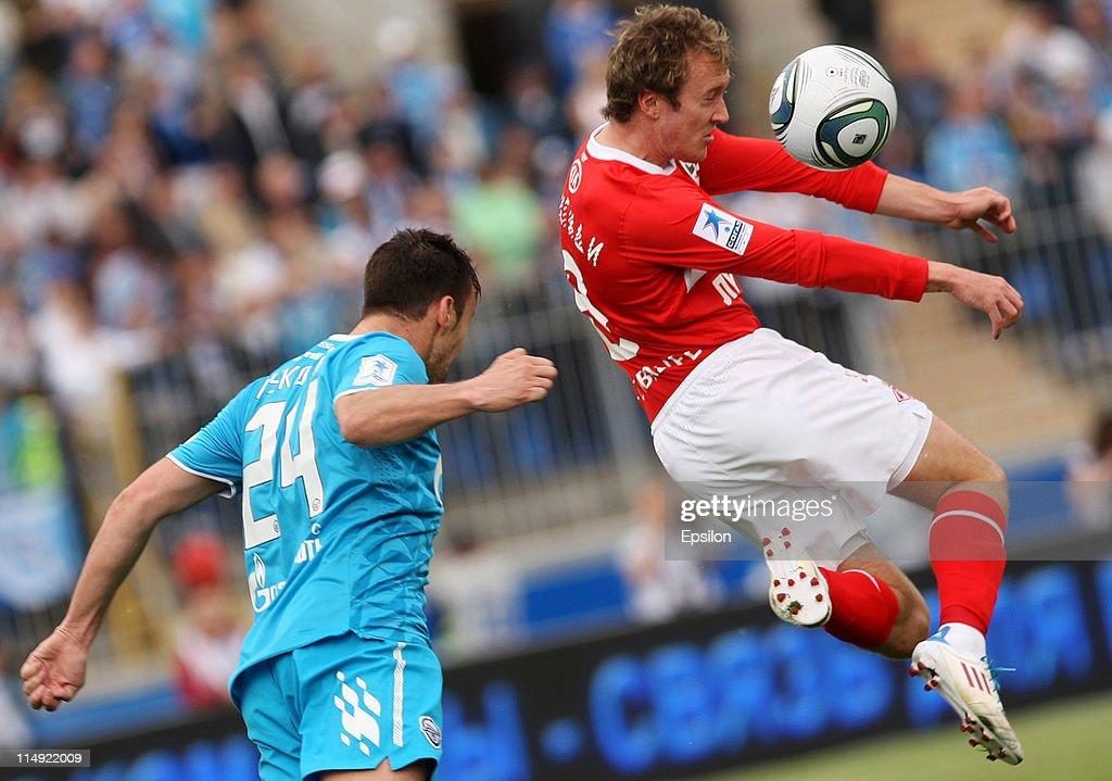 FC Zenit St Petersburg v FC Spartak Moscow - Premier League
