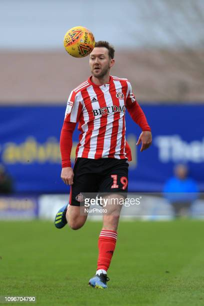 Aiden McGeady of Sunderland during the Sky Bet League 1 match between Oxford United and Sunderland at the Kassam Stadium Oxford on Saturday 9th...