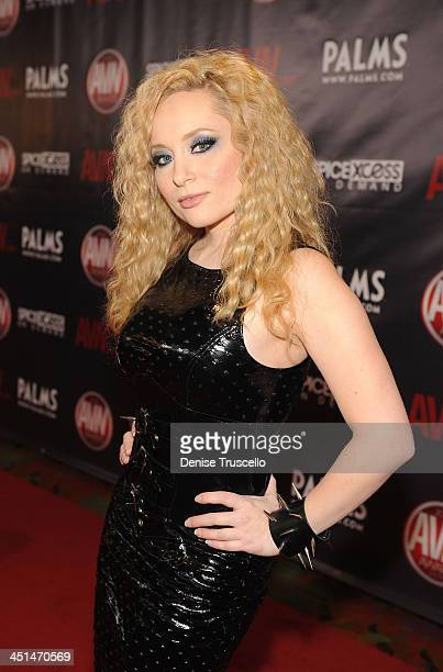 Aiden Starr arrives at the 2010 AVN Awards at the Pearl at The Palms Casino Resort on January 9 2010 in Las Vegas Nevada