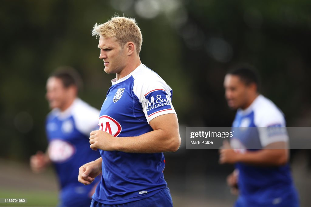AUS: Canterbury Bulldogs Training Session