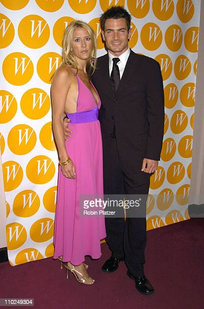 Aiden Turner and fiancee Megan Marshall during The Center for the Advancement of Women's 10th Anniversary Gala at The Waldorf Astoria in New York...