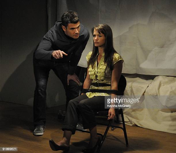 CHILDREN Aiden Turner and Melissa Claire Egan in a scene that airs the week of October 5 2009 on Walt Disney Television via Getty Images Daytime's...