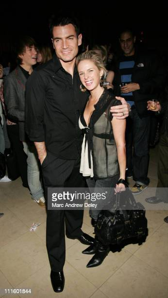 Aiden Turner and Samantha Prestley during MAO MAG Fashion Week Launch Party Hosted by Deborah Harry January 31 2007 at Broad Street Ballroom in New...