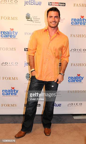 Aiden Turner attends the Reality Cares Cancer Benefit at the Luxe Hotel on August 27, 2010 in Los Angeles, California.