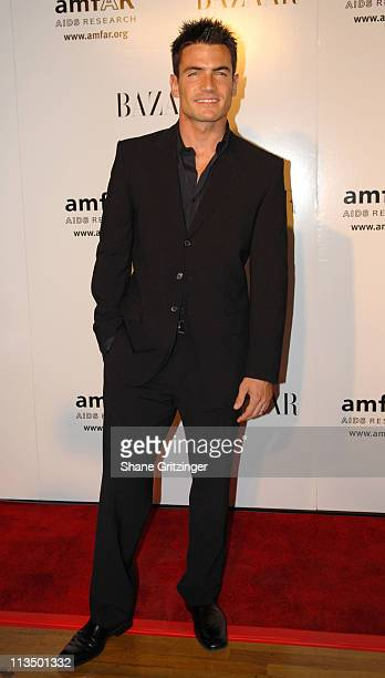 Aiden Turner during 15th Annual amfAR Rocks Benefit at The Puck Building in New York City New York United States
