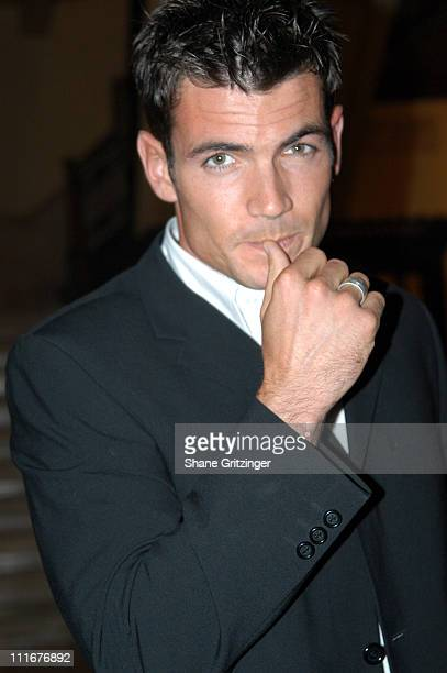 Aiden Turner during George Lang's Surprise 80th Birthday Party at Cafe des Artistes in New York City New York United States