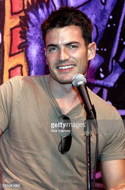 Aiden Turner of 'All My Children' during Soap Stud Spectacular Meet and Greet March 12 2005 at Comedy Stop in Atlantic City New Jersey United States