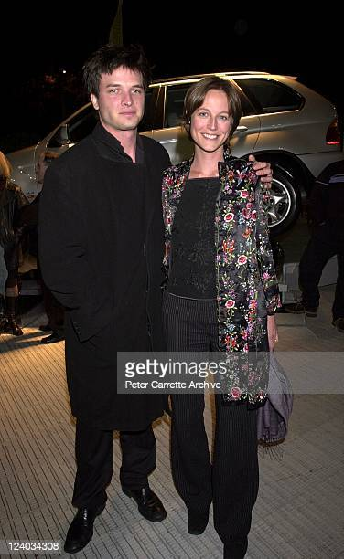 Aiden Young and Martha Dusseldorf arrive for the opening night of the Cirque du Soleil production of 'Alegria' under the Grand Chapiteau at Moore...