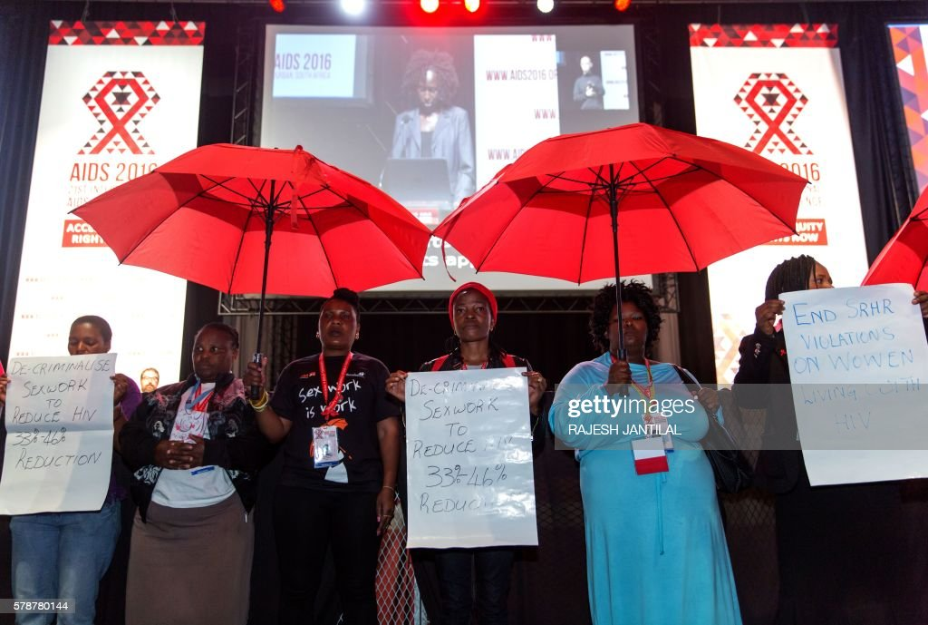 SAFRICA-HEALTH-AIDS-CONFERENCE : News Photo