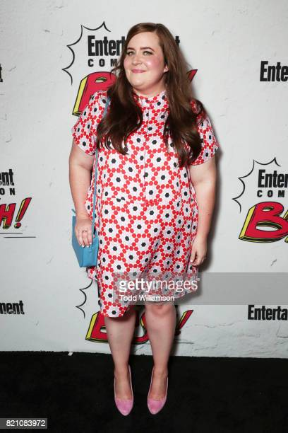 Aidy Bryant at Entertainment Weekly's annual Comic-Con party in celebration of Comic-Con 2017 at Float at Hard Rock Hotel San Diego on July 22, 2017...