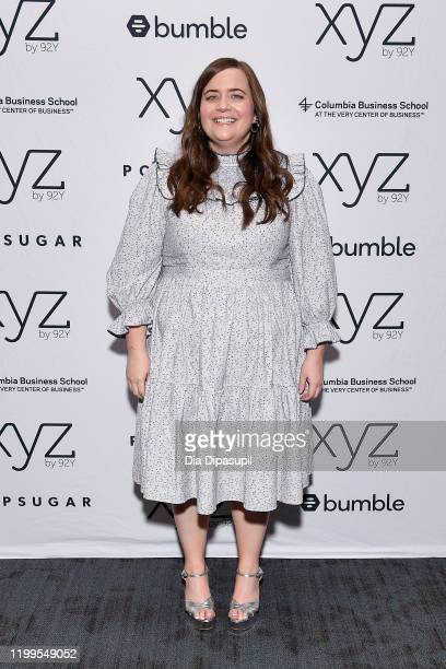 Aidy Bryant attends Hulu's Shrill Season 2 Preview Talk at 92nd Street Y on January 14 2020 in New York City