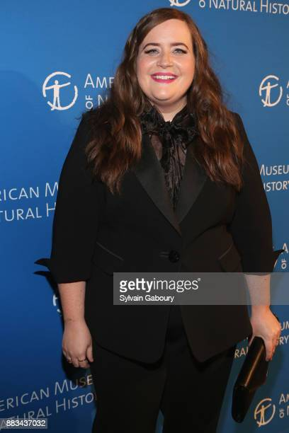 Aidy Bryant attends The 2017 Museum Gala at American Museum of Natural History on November 30 2017 in New York City