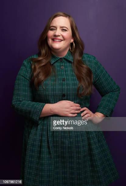Aidy Bryant of Hulu's Shrill poses for a portrait during the 2019 Winter TCA at The Langham Huntington Pasadena on February 11 2019 in Pasadena...