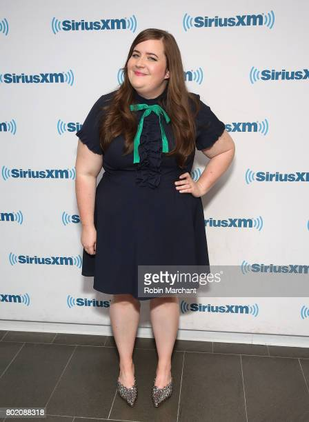 Aidy Bryant visits at SiriusXM Studios on June 27 2017 in New York City