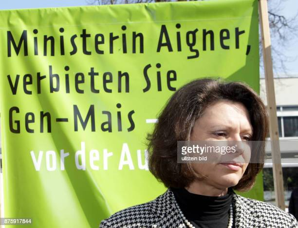 Aigner Ilse Politician CSU Germany Federal Minister of Food Agriculture and Consumer Protection