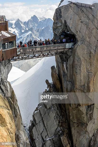 """"""" Aiguille du Midi, le pont, Massif de du Mont Blanc"""""""
