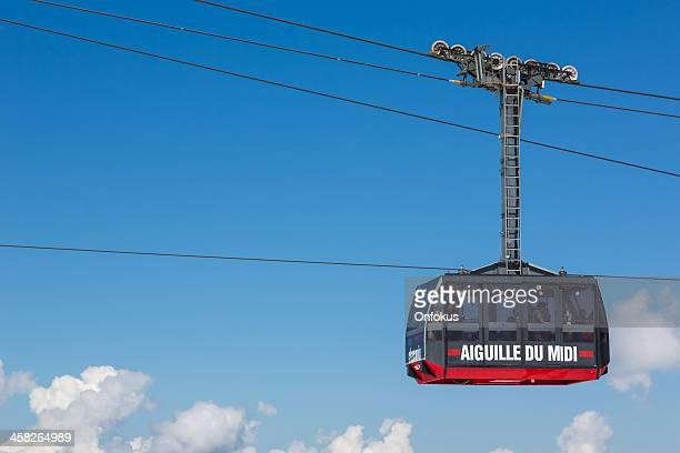 Aiguille du midi tramway, Chamonix, France