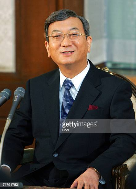 Aiiku Hospital Director Masao Nakabayashi speaks to the media during a news conference on the birth of Japanese Princess Kiko's baby boy at the...