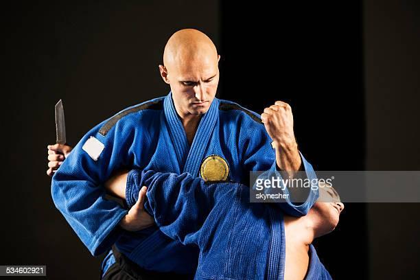 Aikido Selbstverteidigung.