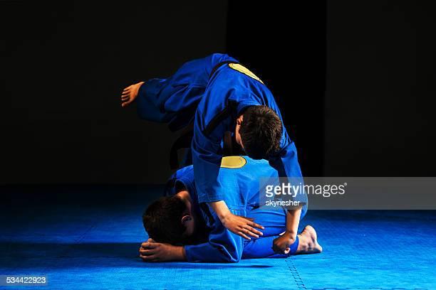 Aikido training.