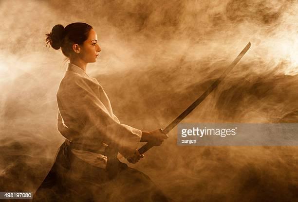Aikido woman
