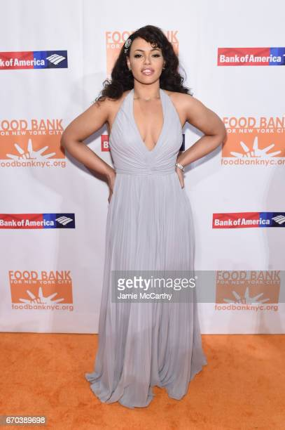 Aikisha Holly attends the Food Bank for New York City CanDo Awards Dinner 2017 on April 19 2017 in New York City