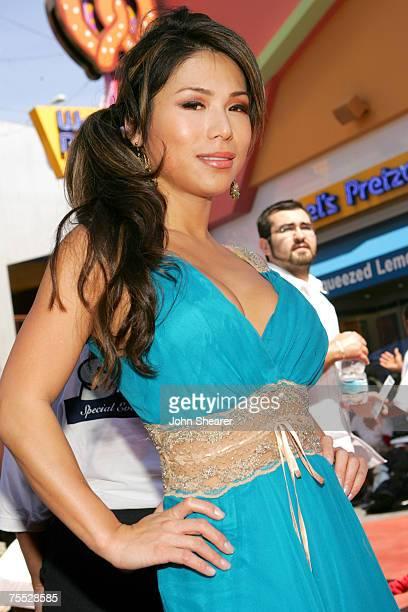 Aiko Tanaka at the Universal Studios in Hollywood California