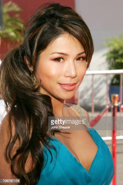 Aiko Tanaka during 'The Fast and the Furious Tokyo Drift' Los Angeles Premiere Red Carpet at Universal Studios in Hollywood California United States