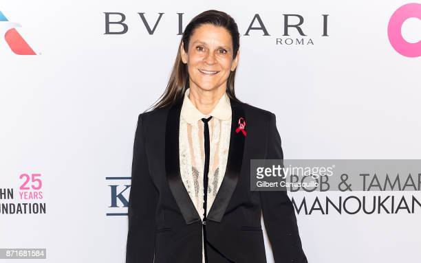 Aileen Getty attends as Elton John AIDS Foundation Commemorates Its 25th Year And Honors Founder Sir Elton John During New York Fall Gala at...