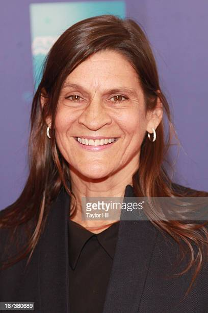 Aileen Getty attends the screening of Battle of amfAR Beyond The Screens The Artist's Angle during the 2013 Tribeca Film Festival at SVA Theater on...