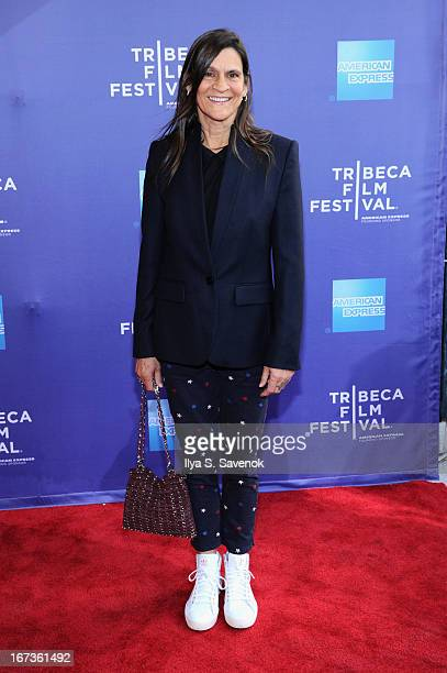 Aileen Getty attends Tribeca Talks After The Movie Battle Of amfAR during the 2013 Tribeca Film Festival on April 24 2013 in New York City