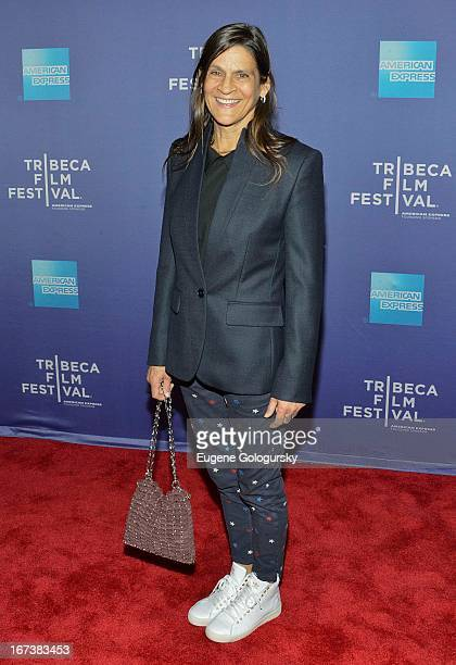 Aileen Getty attends Tribeca Talks After the Movie Battle of amFAR during the 2013 Tribeca Film Festival at SVA Theater on April 24 2013 in New York...