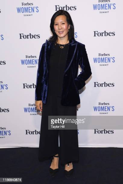 Aileen Lee attends the 2019 Forbes Women's Summit at Pier 60 on June 18, 2019 in New York City.