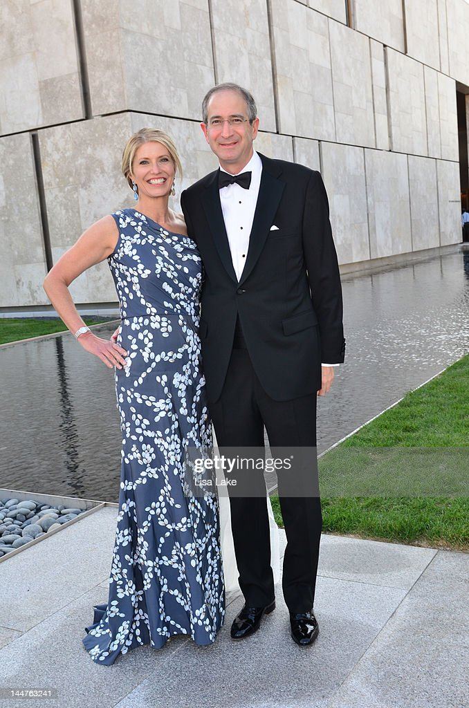 Aileen Roberts And Brian Roberts Attend The Barnes