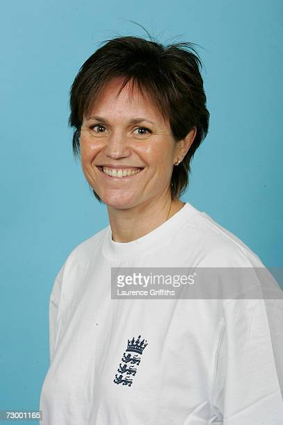 Aileen Taylor of England Under 19's during a photocall for the England A And Under 19 Cricket squads at The ECB Cricket Academy on January 11, 2007...