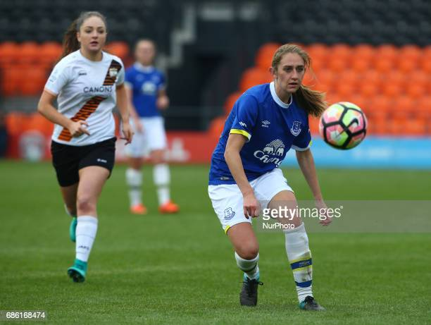 Aileen Whelan of Everton Ladies during Women's Super League 2 Spring Series match between London Bees against Everton Ladies at The Hive Barnet FC on...