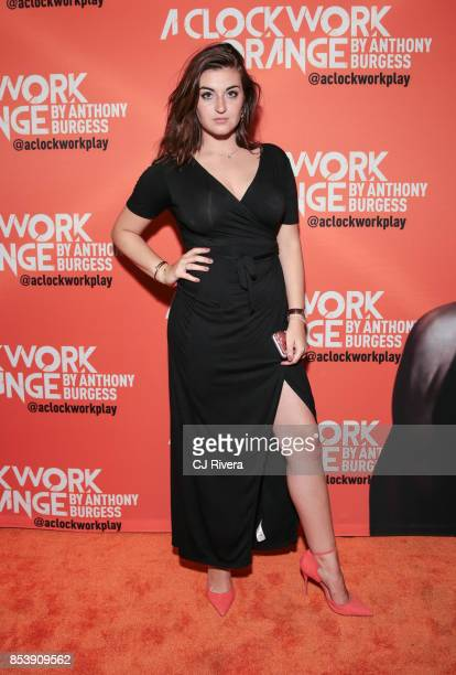 Ailsa Hoke attends the OffBroadway opening night of 'A Clockwork Orange' at New World Stages on September 25 2017 in New York City
