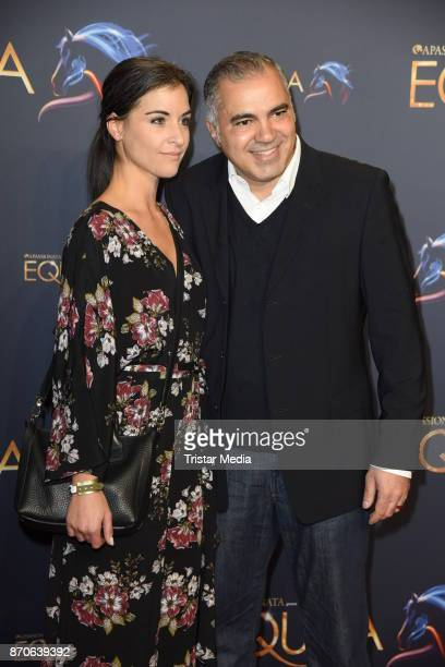 Aiman Abdallah and his wife Petra Abdallah during the world premiere of the horse show 'EQUILA' at Apassionata Showpalast Muenchen on November 5 2017...