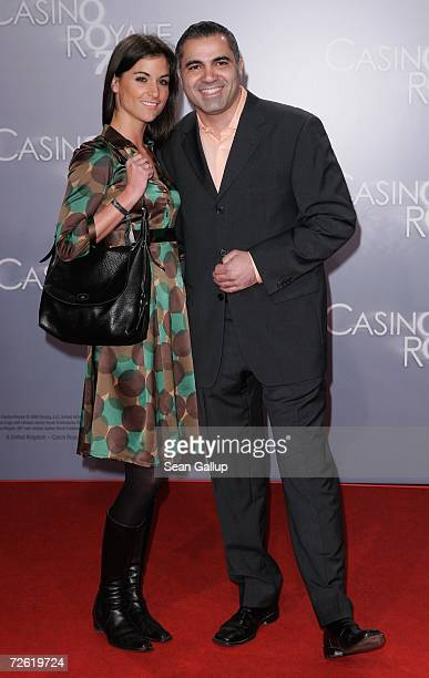 Aiman Abdallah and Petra Linke attend the German premiere to Casino Royale at the CineStar November 21 2006 in Berlin Germany