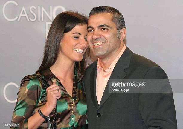 Aiman Abdallah and Petra Linke during Casino Royale Berlin Premiere November 21 2006 in Berlin Berlin Germany