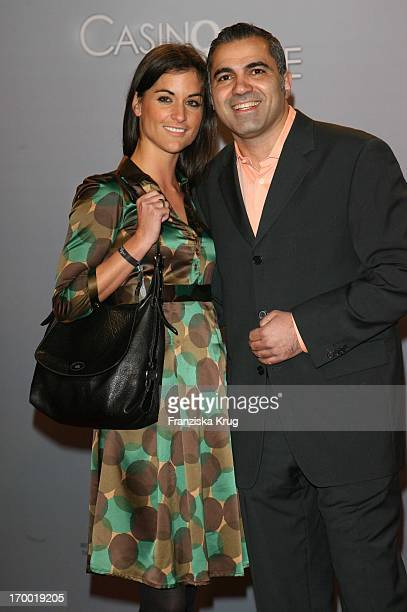 Aiman Abdallah And Petra Linke in Germany At The Premiere Of Casino Royale in Cinestar Potsdamer Platz Berlin