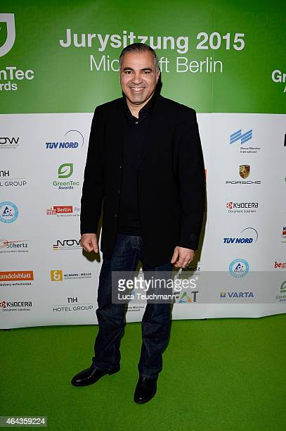 Aiman Abdallah attends the GreenTec Awards Jury Meeting 2015 at Microsoft Berlin on February 25 2015 in Berlin Germany