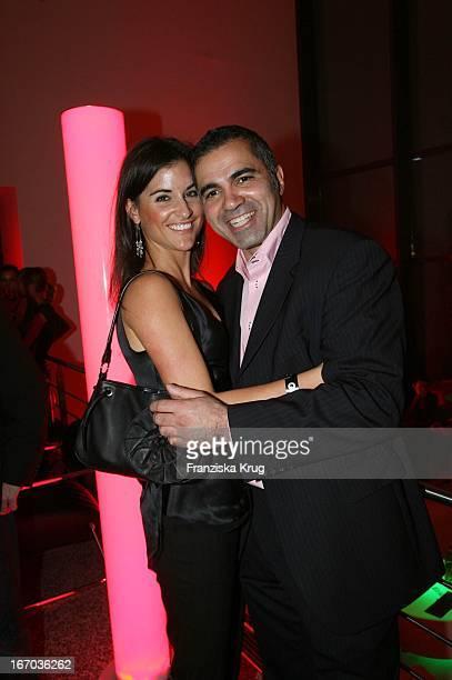 Aiman Abdallah Und Petra Linke Bei Der Verleihung Der Gq Men Of The Year Awards In Der Wappenhalle In München