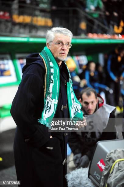 Aime JACQUET Saint Etienne / Marseille 8e finale Coupe de la Ligue Stade Geoffroy Guichard