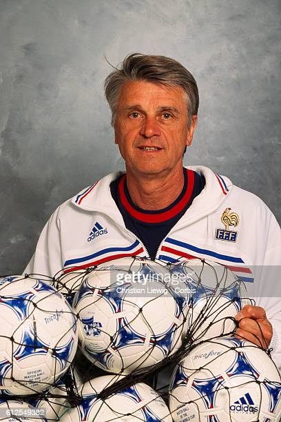 Aime Jacquet coach of the French national soccer team He won the 1998 World Cup in France