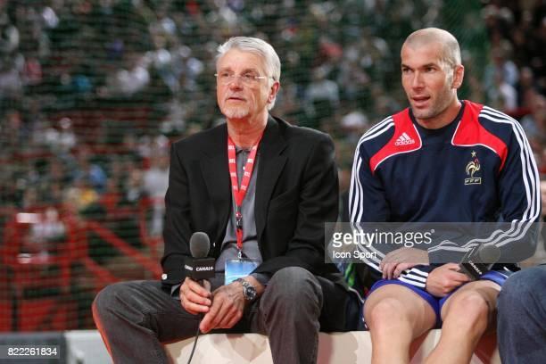Aime JACQUET / Zinedine ZIDANE France 98 / PSG Finale du Tournoi de Futsal RTL Paris Bercy