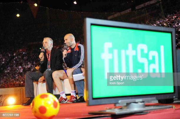 Aime JACQUET / Zinedine ZIDANE Tournoi de Futsal RTL Popb Paris Bercy